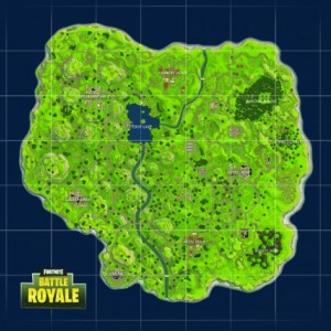 Fortnite Map Wallpaper